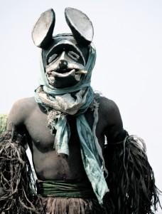 Gule Wamkulu dancer Malawi